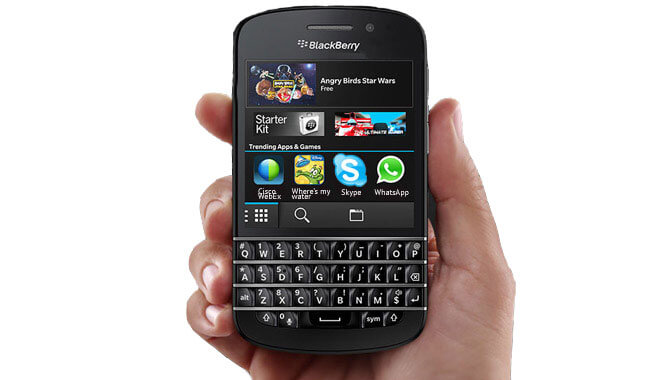 WhatsApp для BlackBerry