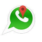 Как определить местоположение в WhatsApp
