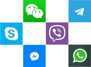 Изображение аналогов WhatsApp