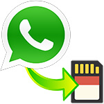 Как WhatsApp переместить на SD карту