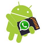 Ошибка «Недостаточно места на диске» WhatsApp