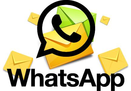 Картинка сообщений в WhatsApp