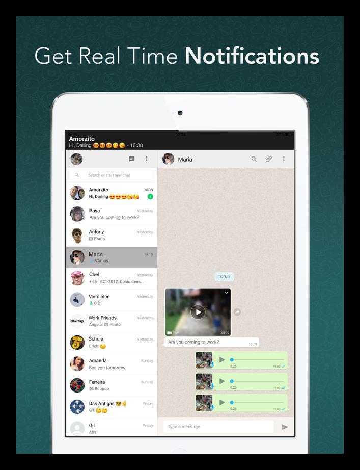 WzPad для WhatsApp