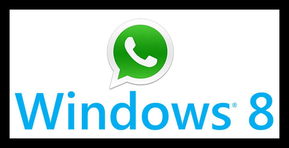 Вид WhatsApp в Windows 8