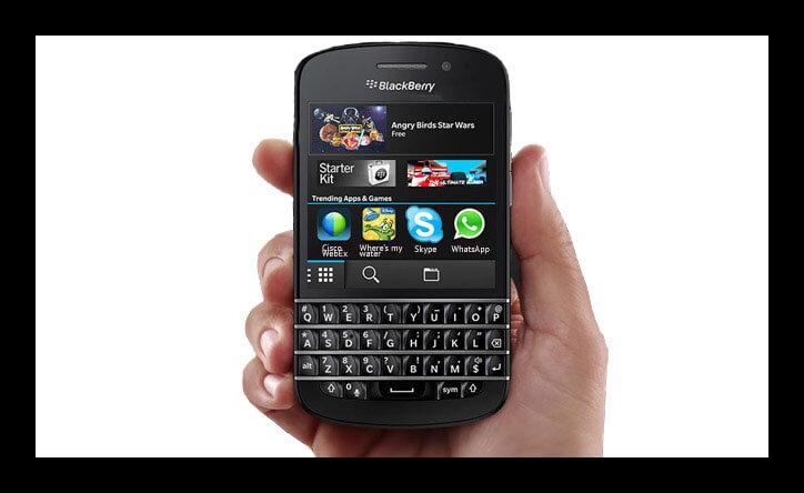 Картинка смартфона BlackBerry